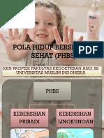 Pola Hidup Bersih Dan Sehat (Phbs)