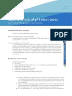 Quality Check for PH Electrodes 600 KB English PDF