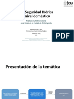 (in)Seguridad Hídrica a Nivel Doméstico, Un Análisis Multidimensional en El Caso de Antofagasta