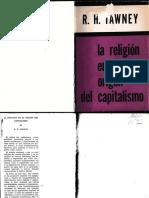 La Religion y la Origen del Capitalismo - Tawney
