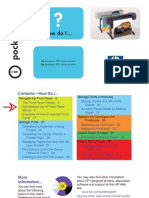 HP Designjet 500 Series Pocket Guide