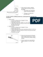 Bmw Ground Wire Procedure
