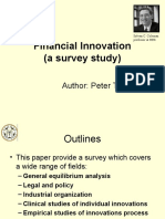 Financial InnovTION Nnd Risk Management