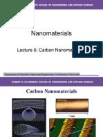 Carbon Nano Materials 1