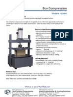 Box Compression Tester - P1000D