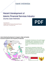 Recent Development of Islamic Financial Services Industry