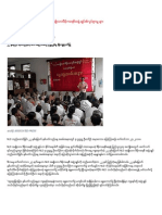 Current Movement of NLD in BURMA From 27.9.2010
