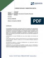 Diplomado en Redes Sociales y Marketing Digital