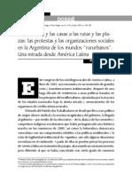 Argentina - Protestas y Organizaciones Sociales Rurales