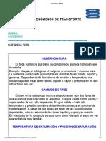 Sustancia Pura - Termodinámica (Revisado)