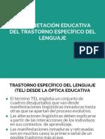 INTERPRETACIÓN EDUCATIVA DEL TRASTORNO ESPECÍFICO DEL LENGUAJE.pdf