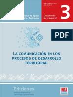 La Comunicacion en Los Procesos de Desarrollo Territorial