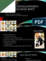 Laporan Pertanggungjawaban Pengurus Masa Bakti 2016
