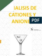 Análisis de cationes y aniones