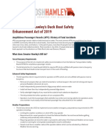 Duck Boat Safety Enhancement Act