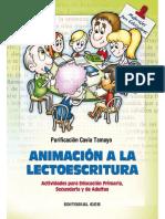 Animación a La Lectoescritura - Purificación Cavia Tamayo