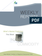 Bulion Commodity Reports for the Week (1st - 5th November - 2010)