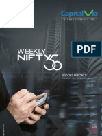 Nifty 50 Reports for the Week (1st - 5th November - 2010)