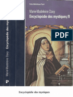 Encyclopédie des mystiques II  Marie-Madelaine Davy -pdf image