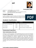 Umair Ahmed Cv