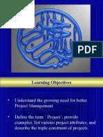 Project Management ME LID 8-10-10
