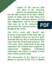The Desecration of the Qur