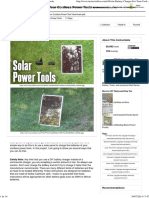 (ebook) Instructables. Solar Battery Charger For Your Cordless Power Tools by DIY Hacks and How Tos.pdf