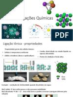 Ligações Químicas - Cursinho 2015
