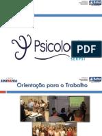 Programa de Orientação Profissional 2012