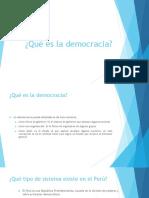 Qué Es La Democracia