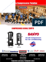 Flyer Compresores Scroll Sanyo Panasonic