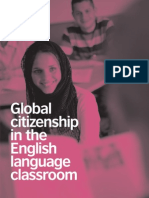 Global Citizenship in the English Language Classroom