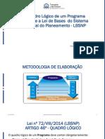 Elaboração de Programas Método Quadro Lógico.pdf