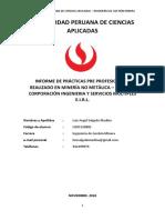 Informe de Practicas-pre Luis Salgado Medina