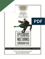 Bns - Episodios Nocturnos Coreograficos - Paper Prensa