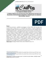 A defesa pública da Sociologia por cientistas sociais e da Filosofia por filosófos - a tramitação da MP 246-2016.pdf
