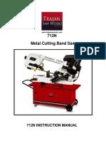 Trajan 712 Owners Manual