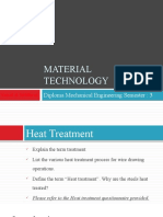 Heat Treatment Processes