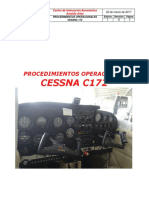 Manual de operacion cessna 172