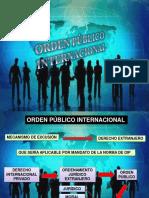 Presentación Orden Público Internacional