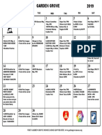 Calendar April 2019 PDF