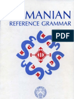 Romanian Reference Grammar