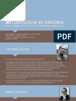 Metodologia vs Historia