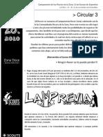 Circular 3 - Campamento Rover Zonal - CaRoZo 2010