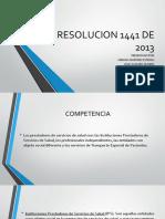 RESOLUCION 1441