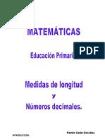 Medidas de longitud y números decimales.