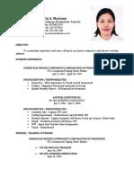 Violeta Resume