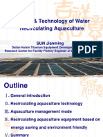 Sun-Water Recirculating Aquaculture