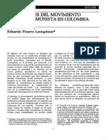 Los origenes del movimiento armado comunista en Colombia - Eduardo Pizarro Leongómez.pdf