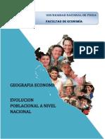 Poblacion en el Peru